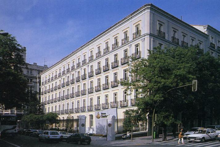 204 banco santander headquarter spain nations for Banco santander oficina central madrid