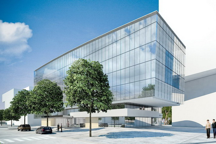 building an office. beautiful office in an urban developement area with excellent traffic connections  office building was conceived as a corporate headquarter of medium size to building an office